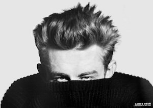 James Dean Sweater Poster