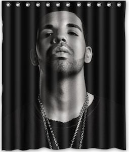 Drake Portrait Shower Curtain