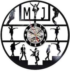 Micheal Jackson Vinyl Record Wall Clock