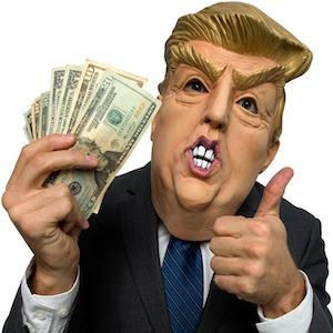 Donald Trump Latex Face Mask