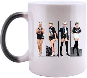 Miley Cyrus Morphing Mug
