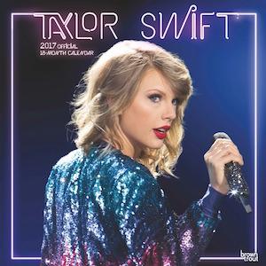 2017 Taylor Swift Wall Calendar