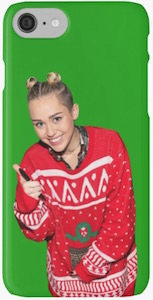 Miley Cyrus Christmas iPhone Case