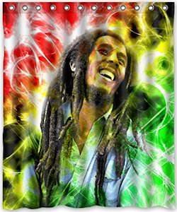 Bob Marley Shower Curtain