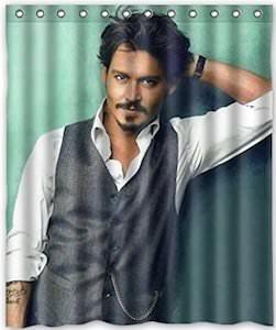 Johnny Depp Shower Curtain