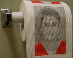 Justin Bieber Toilet Paper