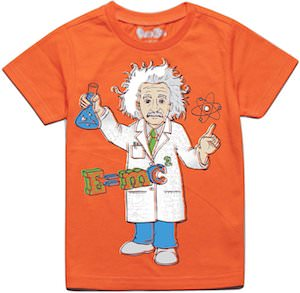 Toddler Albert Einstein T-Shirt