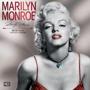 2018 Marilyn Monroe Wall Calendar