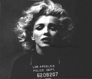 Marilyn Monroe Mugshot Blanket