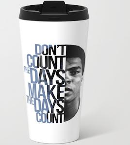 Muhammad Ali Travel Mug