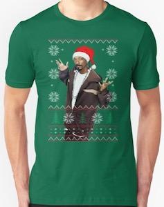 Snoop Dogg Christmas T-Shirt