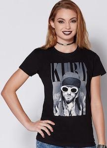 Kurt Cobain With Sunglasses T-Shirt