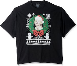 Marilyn Monroe Christmas T-Shirt