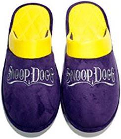 Purple Snoop Dogg Slippers