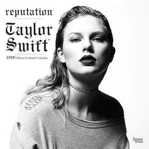 2019 Taylor Swift Wall Calendar