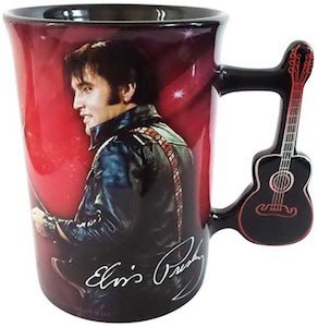 Elvis Guitar Handle Mug