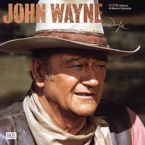 2019 John Wayne Wall Calendar
