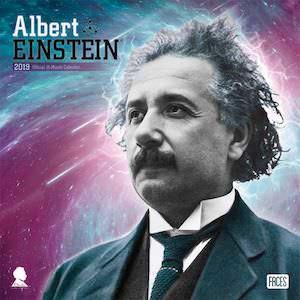 2019 Albert Einstein Wall Calendar