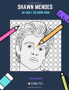 Shawn Mendes Coloring Book