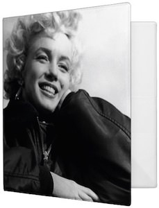 Smiling Marilyn Monroe Binder