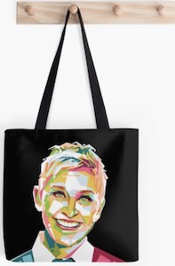 Geometric Ellen Tote Bag