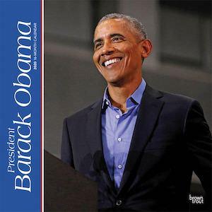 2020 Barack Obama Wall Calendar