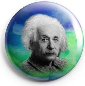 Alberta Einstein Button