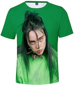 Billie Eilish Feeling Green T-Shirt