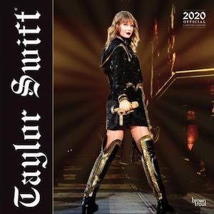 2020 Taylor Swift Wall Calendar