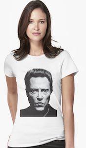 Christopher Walken Portrait T-Shirt