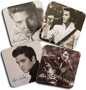 Elvis Presley Coaster Set