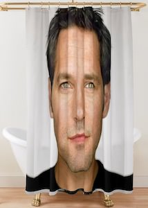 Paul Rudd Portrait Shower Curtain