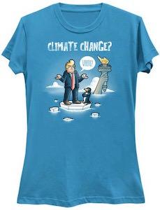 Trump Climate Change Where T-Shirt