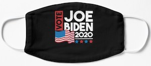 Vote Joe Biden Face Mask