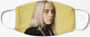 Yellow Billie Eilish Face Mask