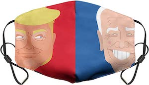 Trump And Biden Face Mask