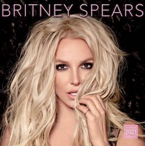 2021 Britney Spears Wall Calendar