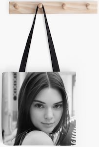 Kendall Jenner Tote Bag