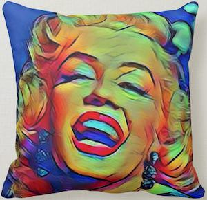 Marilyn Monroe Pop Art Pillow