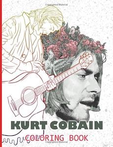 Kurt Cobain Coloring Book