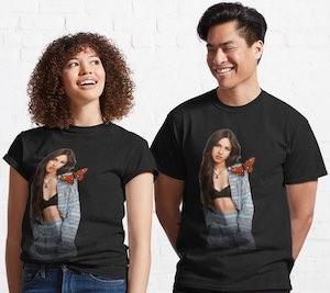 Olivia Rodrigo And Butterfly T-Shirt